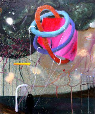 Sending out new signs, peinture, Philip Grözinger