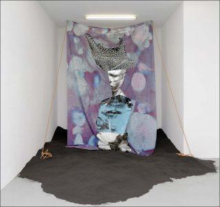 Bug-Jargal, impression sur tissu, Raphaël Barontini