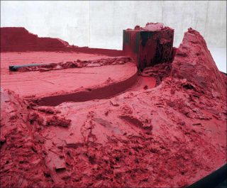 My Red Homeland, installation, Anish Kapoor