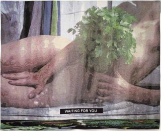 Waiting for you, tapisserie, Laure Prouvost