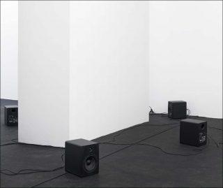 Le fil conducteur, installation, Dominique Petitgand