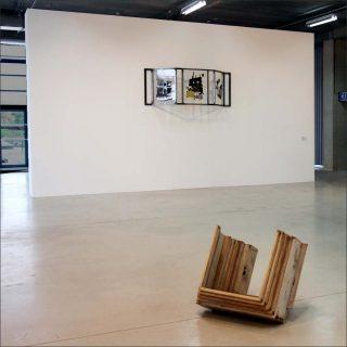 Permanent déplacement, installation, Sarah Feuillas et Aglaia Konrad
