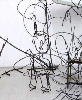 Abetare, sculpture, Petrit Halilaj