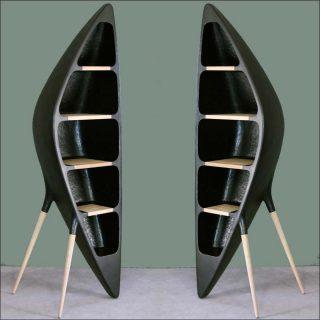 Binôme Design (Ingrid Michel & Frédéric Pain), bibliothèque Tripode, 2014
