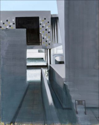 Paysage 147, peinture, Jérémy Liron