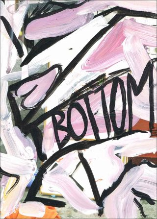 Bottom, Carton d'invitation, Corentin Canesson