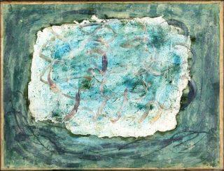 Forêt, peinture, Jean Fautrier