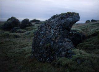 Skaftarhreppur lava fields, installation, Lola Maria Muller