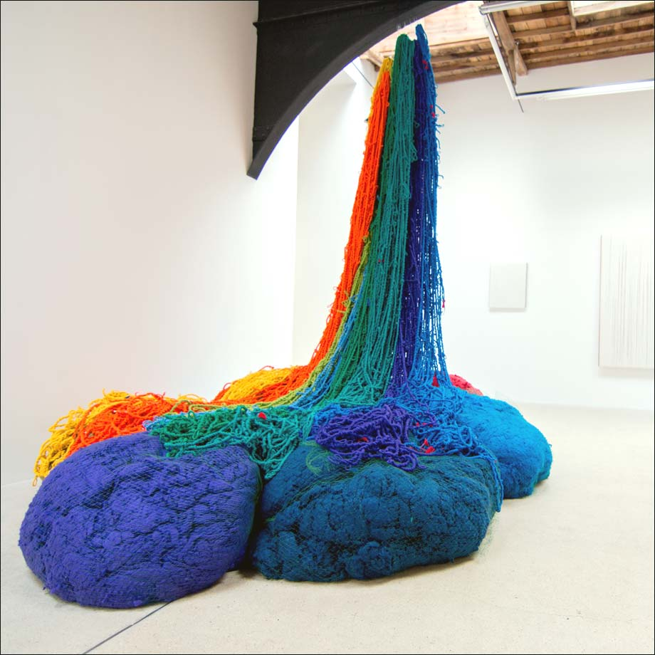 Atterrissage, sculpture, Sheila Hicks