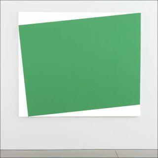 Green Relief (Relief vert), peinture, Ellsworth Kelly