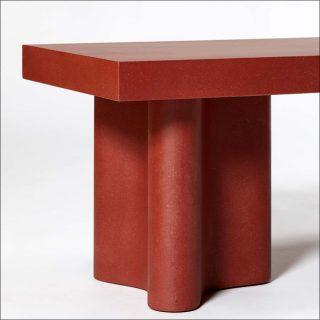 François Bauchet, Azo - Bench Red (détail), 2018