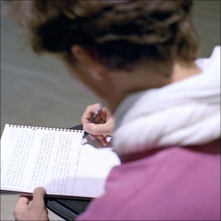 Exchange of Handwriting, performance, Jiri Skala