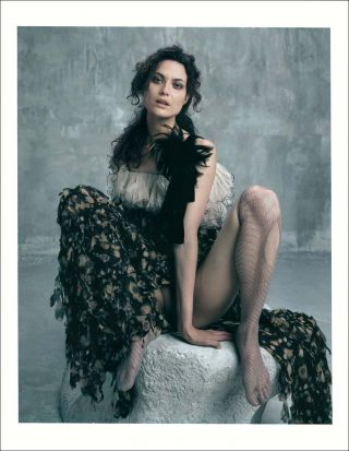 Shalom Harlow, Polaroïd N° 1, photo, Bettina Rheims