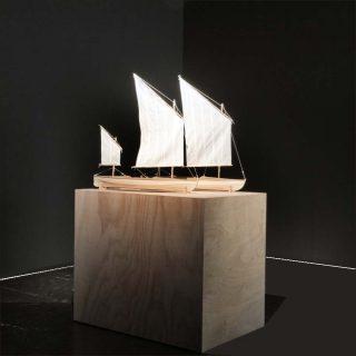 the cigarette & The Arethusa, installation, Mira Sanders