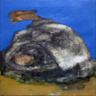 Étude d'oreiller, peinture, Claudio Coltorti
