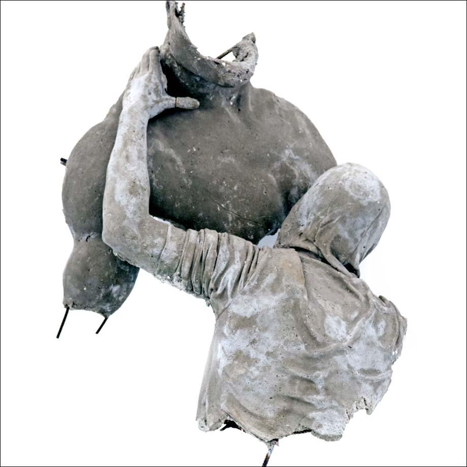 Uprising II, sculpture, Ugo Schiavi