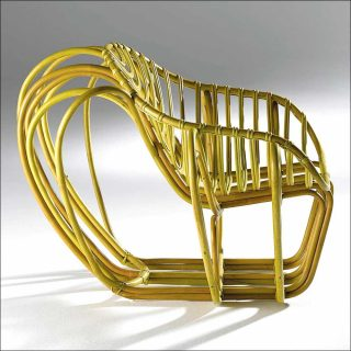 Clémentine Chambon (Percept Design), Elliptic armchair, 2014