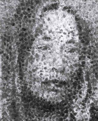 Portrait de Garance #53, dessin, Jérôme Zonder