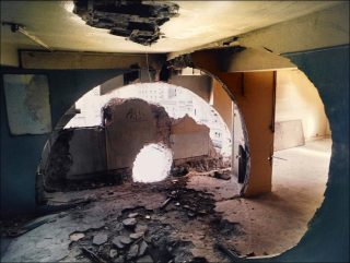 Conical Intersect, photo, Gordon Matta-Clark