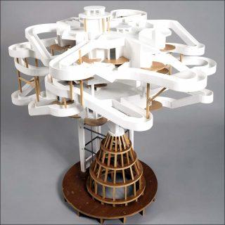 Pavillon Parker #8, sculpture, Rémy Jacquier