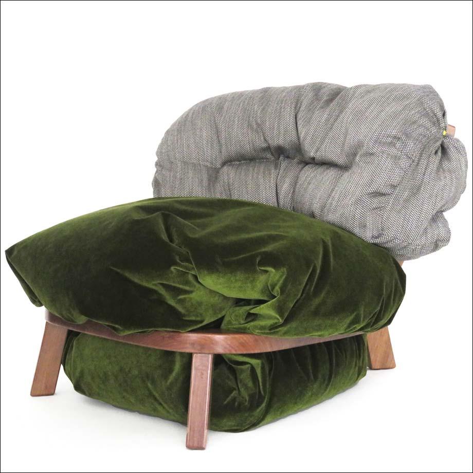 Anastasia Nysten, fauteuil Troll Chair, 2017