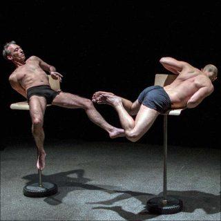 Vincent Lacoste (Le Relais/Groupe Expir), Slow torments, exposition de corps tourmentés (Candles/Avachissements), 2016-2018
