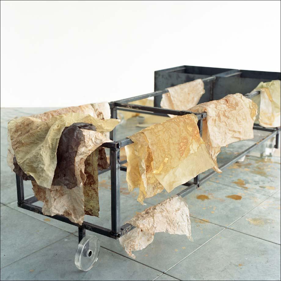 Spolia : Mountaincutters, Installation Avec Tarkos, Adnan