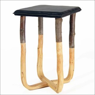 Johannes Hemann, Pressed Wood Nature Stool, 2012
