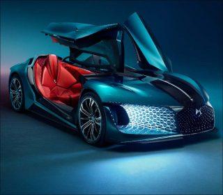 DS Automobiles, concept-car X E-Tense, 2018