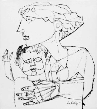 Lajos Szalay, Panique, vers 1960.