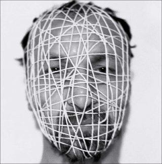 Decebal Scriba, Mask #2 (détail), série Masks, 1976 – 2018.