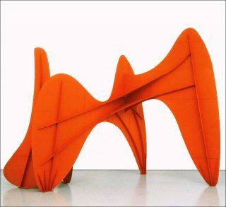 Alexander Calder, La Grande vitesse (1:5 maquette intermédiaire), 1969.