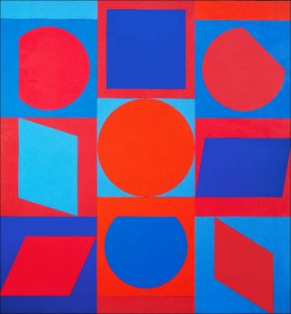 Victor Vasarely, Kalota II, 1960-1964.