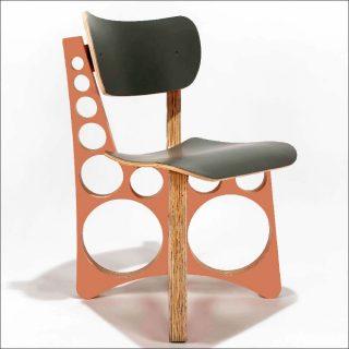 Tom Sachs, Pink X Chair Prototype, 2018
