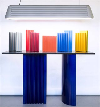 Victoria Wilmotte (VW Factory), Zigzag Console, 2017