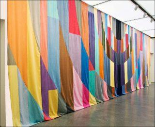Ulla von Brandenburg, Curtain, 2007.