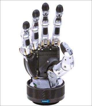 Schunk, pince / main à 5 doigts SVH, 2014