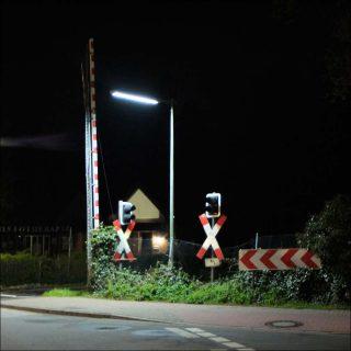 Le-noyau, Passage à niveau - Nocturne allemand, 2016.