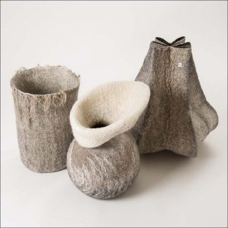 Carine Mertes (Filz and More), Pots