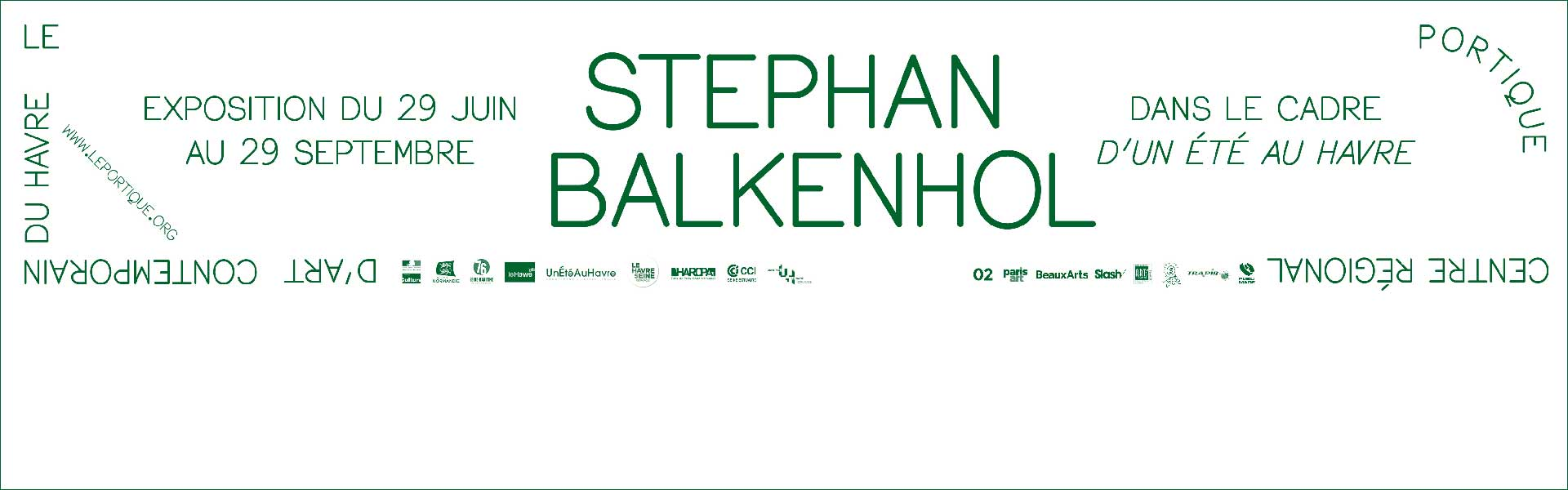 Stephan Balkenhol-Le Portique