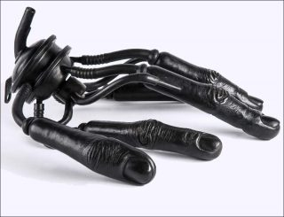 Prune Nourry, Hand Machine, 2012.
