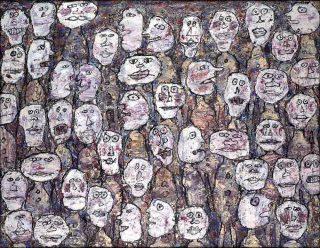Jean Dubuffet, Affluence, 1961.
