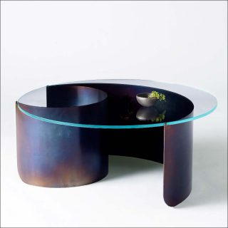 Kin & Company (Joseph Vidich et Kira de Paola), Wave Coffee Table, 2019