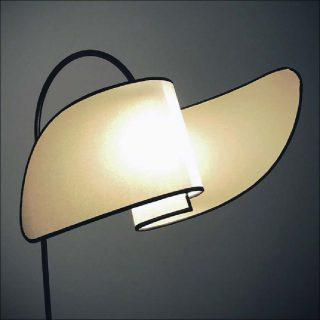 Lampe Cornetto Mollino. MHgalerie (Myriam Helard Galerie)