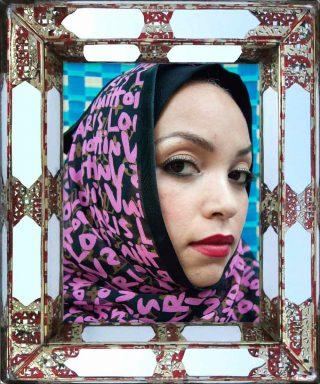 Hassan Hajjaj, Gretchen, série Hijab, 2012.
