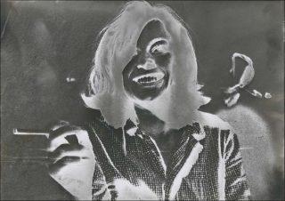 Sigmar Polke, Sans titre (Hannelore Kunert), 1970-1980.
