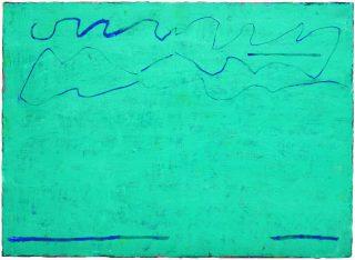 Olivier Aubry, Vert bleu belvédère, 2019.