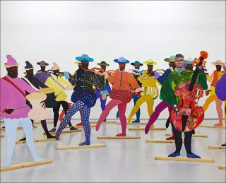 Lubaina Himid, Naming the Money (détail), 2004.