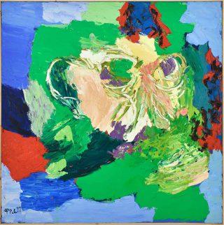Karel Appel, Visage-Paysage no.8, 1977.