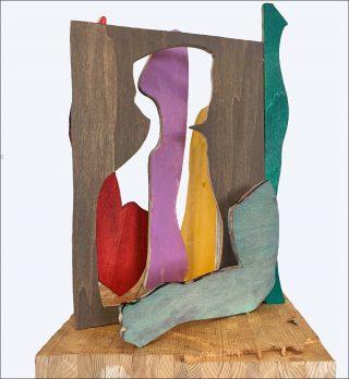 Daniel Clarke, Composition n°2, 2019.